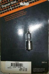 2 - #795D SIGNAL HALOGEN LIGHT ,50WATT , 12 VOLT, SINGLE CONTACT