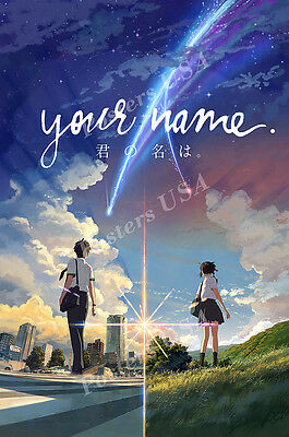 Posters Usa   Your Name Movie Poster Glossy Finish   Fil192
