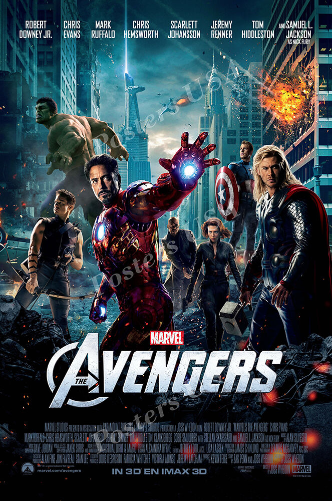 posters usa marvel the avengers movie poster