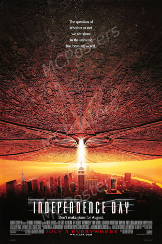 MCPoster - Independence Day Movie Poster Glossy Finish - PRM323
