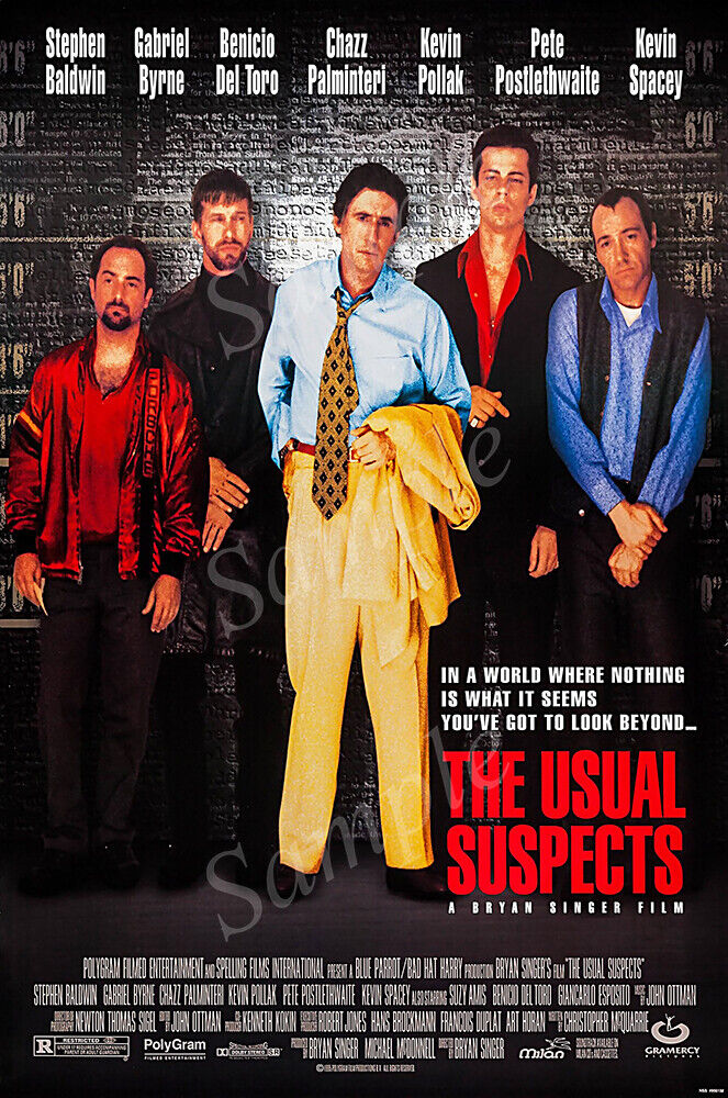 MCPoster - The Usual Suspects Movie Poster Glossy Finish - P