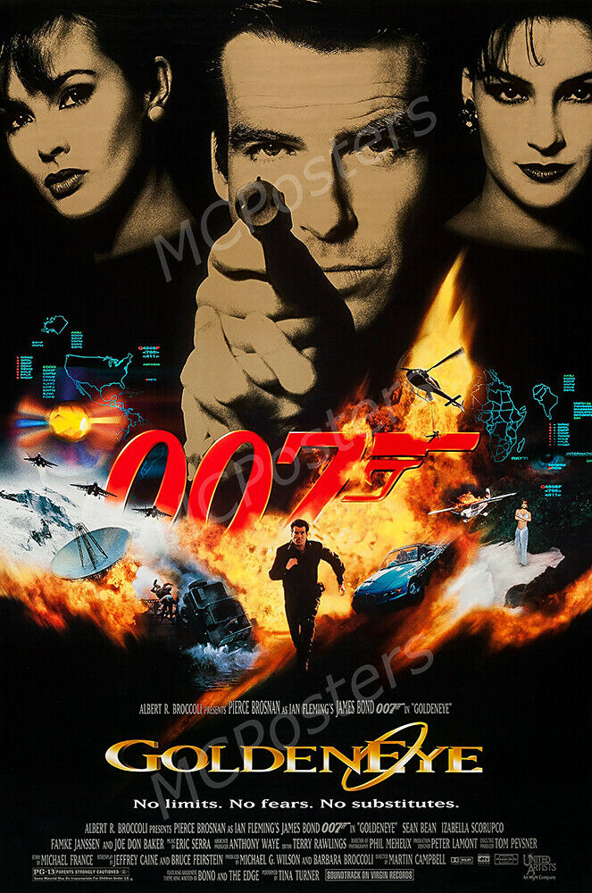 posters usa 007 goldeneye movie poster glossy
