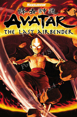 Posters USA - Avatar the Last Airbender TV Show Poster Glossy Finish - TVS454 (Avatar The Last Airbender Tv Show)