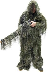 SNIPER GHILLIE SUITS - AIRSOFT - PAINTBALL - HUNTING - AND AWESOME HALLOWEEN FUN - 3 PIECE SYSTEM