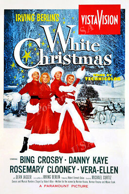Posters USA - White Christmas Movie Poster Glossy Finish - FIL731