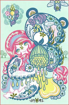 SOLD OUT OOP JUNKO MIZUNO DesignerCon 16 DCON Kawaii WOOT BEAR Signed ART PRINT