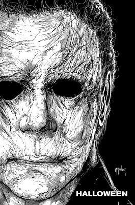 Posters USA - Halloween 2018 Movie Poster Glossy Finish - MCP590](Usa Halloween Movies)