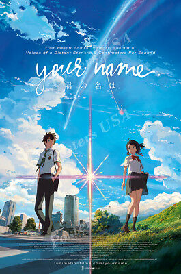 Posters Usa   Your Name Movie Poster Glossy Finish   Fil613