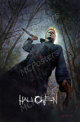 Halloween Movie Posters (Posters USA - Halloween 2018 Movie Poster Glossy Finish -)