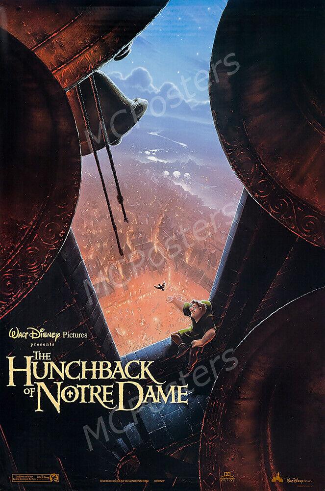MCPoster - Disney Hunchback of Notre Dame Movie Poster Gloss
