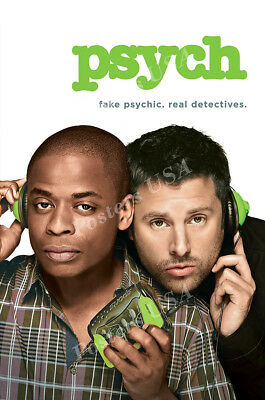 Posters USA - Psych TV Show Series Poster Glossy Finish - TVS475