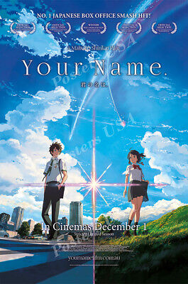 Posters Usa   Your Name Movie Poster Glossy Finish   Fil646