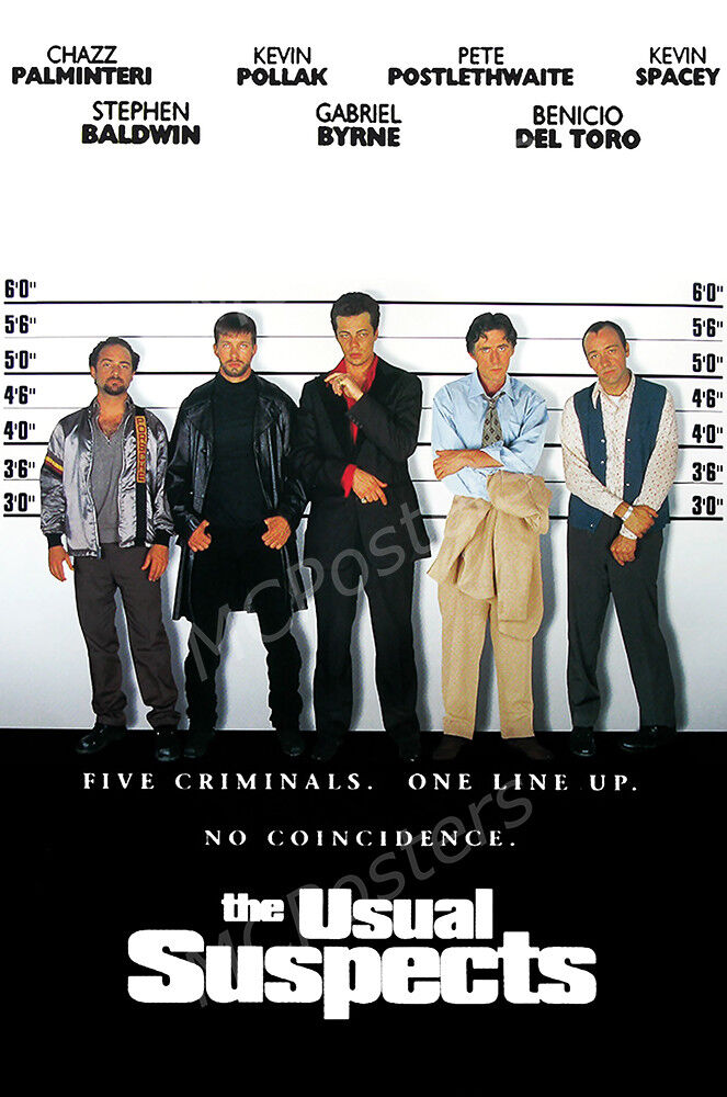 Posters USA - The Usual Suspects Movie Poster Glossy Finish-