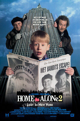 Home Alone Poster (Posters USA - Home Alone 2 Lost In New York Movie Poster Glossy Finish -)