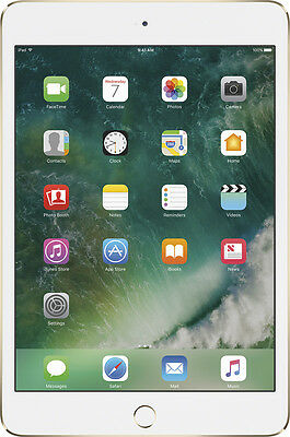 Ipad Mini - Open-Box Certified: Apple - iPad mini 4 Wi-Fi 128GB - Gold