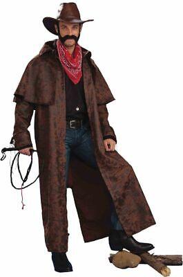 Mantel für Cowboy Herren Kostüm Tex Western Old Shatterhand Wildwest - Old West Cowboy Kostüm