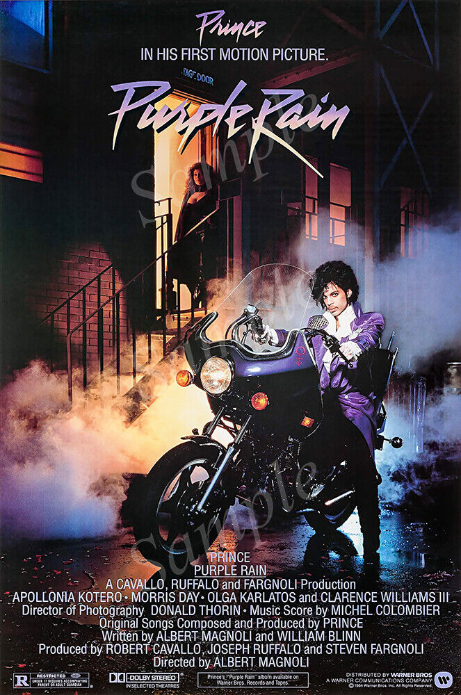 posters usa purple rain prince movie poster