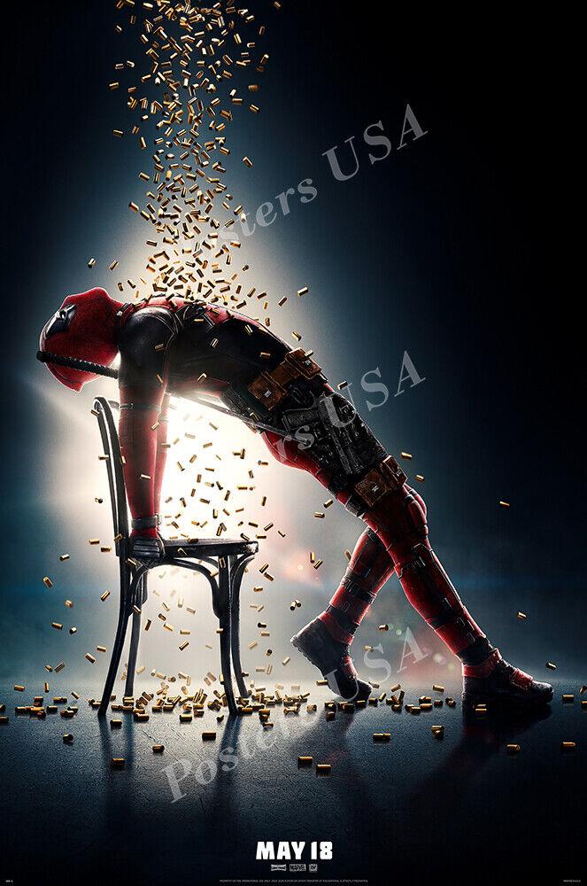 posters usa marvel deadpool 2 movie poster