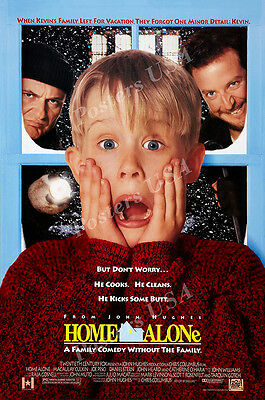 Posters USA - Home Alone Original Movie Poster Glossy Finish - MOV449](Home Alone Poster)