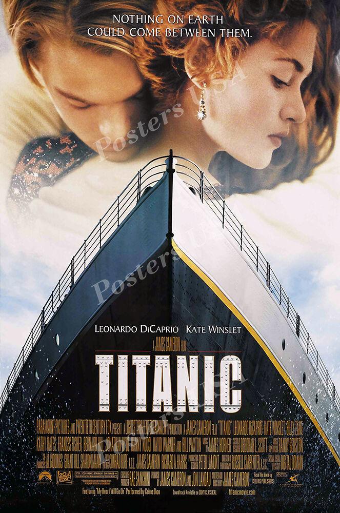 Posters USA - Titanic Leonardo DiCarprio Movie Poster Glossy