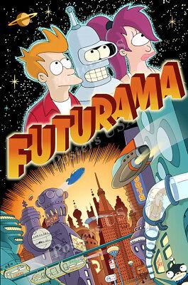 (Posters USA - Futurama TV Show Series Poster Glossy Finish - TVS105)