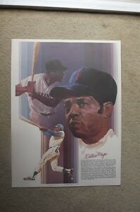 "FS: 1981 Coca-Cola ""Baseball Greats"" Willie Mays-Babe Ruth Promo"