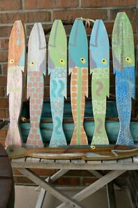 Picket Fence fish - hand painted -- each one unique Sarnia Sarnia Area image 9