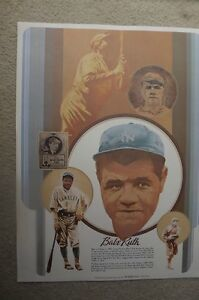 "FS: 1981 Coca-Cola ""Baseball Greats"" Willie Mays-Babe Ruth Promo London Ontario image 3"
