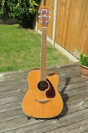Yamaha Electro-Acoustic Guitar FGX-720 SCA FGX720SCA BARGAIN Price for Quick Sale!