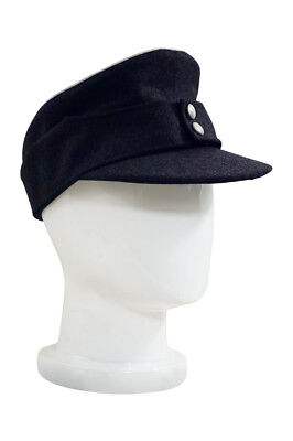 Used, WWII German Kriegsmarine Officer M43 Field Cap Navy blue size: M for sale  China