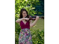 Violin lessons for all ages in a friendly atmosphere.