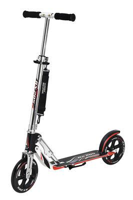 Hudora Roller Scooter Big Wheel RX 205 Racing extra große Räder schwarz
