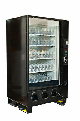 Dixie Narco Dn5591 Bev-max Glass Front Drink Vending Machine Fully Refurbished