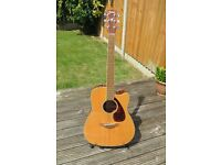 Yamaha Electro-Acoustic Guitar FGX-720 SCA FGX720SCA BARGAIN!