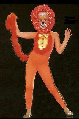 The Lion King Dance Costume Circus Leotard Pants Headpiece Tail New Adult Medium