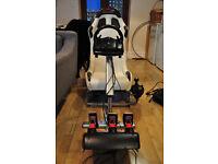 A1 GP Playseat / Logitech G25 Wheel and ButtKicker Gamer