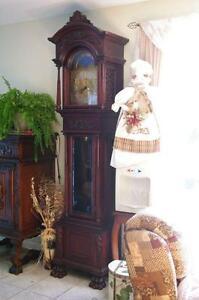 Horloge grand père antique