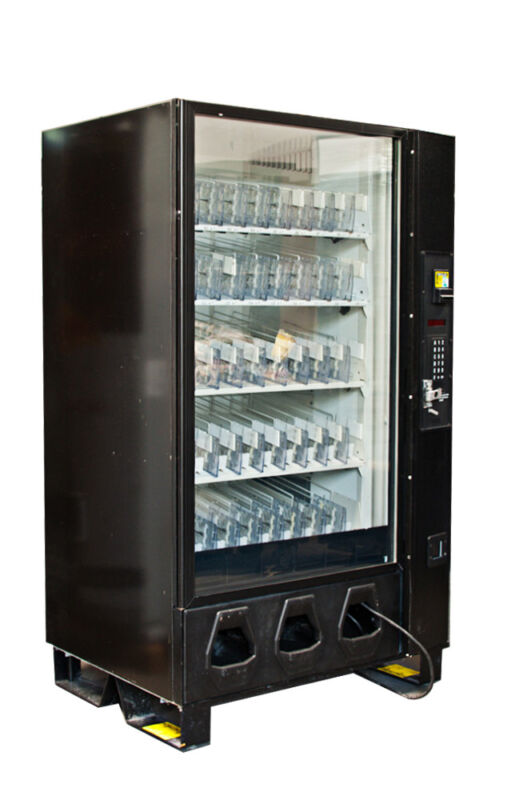 Dixie Narco 5591 Glass Front Bottle Drop Vending Machine FREE SHIPPING