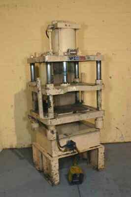 5 Ton Danly Pneumatic 4-post Press Yoder 50522