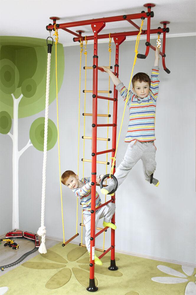 Spalliera Attrezzo da scalare Parete di arrampicata Bambini sportivo FitTop M1