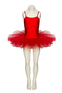 RED-DANCE-FAIRY-BALLET-FULL-TUTU-LEOTARD-ALL-SIZES-BY-KATZ-DANCEWEAR