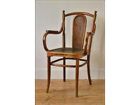 vintage bentwood armchair Kohn like Thonet made in Austria antique