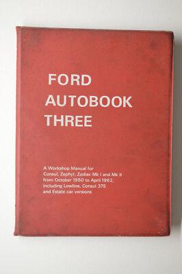 FORD AUTOBOOK THREE A WORKSHOP MANUAL