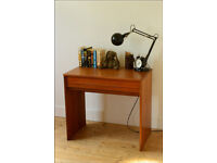 mid century desk dressing table teak vintage danish design STAG