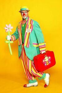 Clown Duclos animation magie pour fête d'enfants