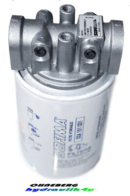 "Hydraulik Rücklauffilter - LEITUNGSEINBAU-3/4""-73 l/min"