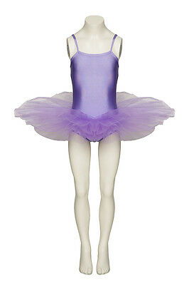Ladies Girls Lilac Ballet Fancy Dress Costume Tutu Outfit All Sizes By Katz