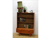 Vintage Sideboard Bookcase Turnidge Of London Teak Mid Century Danish Design