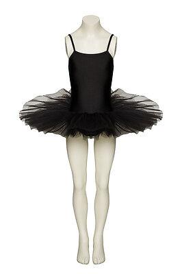e Ballett Hexe Swan Kostüm Tutu Alle Größen von Katz (Alle Schwarz Halloween-kostüm)