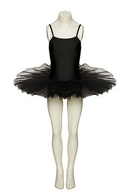 Black Halloween Fairy Ballet Witch Swan Fancy Dress Tutu All Sizes By Katz ()